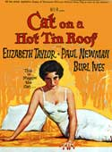 Cat on a Hot Tin Roof movie poster