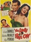 The Lady Pays Off movie poster