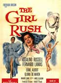 The Girl Rush movie poster